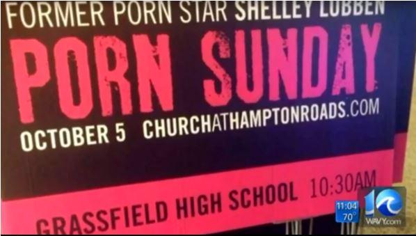 porn sunday organisé par un pasteur