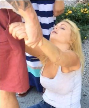 Jesse Jane filmée sur le strip de Las Vegas prétend avoir été droguée à son insu
