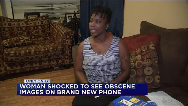 Elle demande des excuses pour le porno trouvé sur son nouveau téléphone !