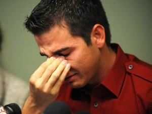 L'ex star du porno Derrick Burts touché par le VIH est un militant de premier plan pour des règles plus strictes.