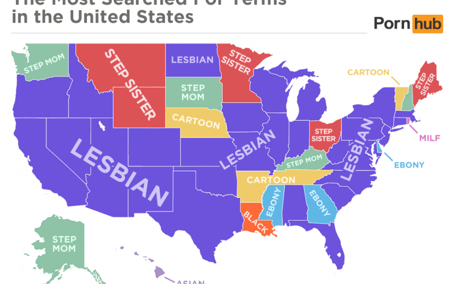 Les mots clés les plus recherchés aux USA en début 2016.