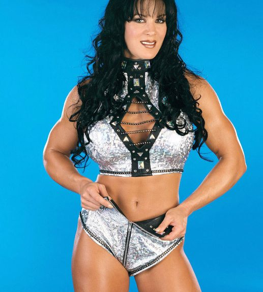 "Joanie ""Chyna"" Laurer poses for a World Wrestling Federation ""Smackdown!"" promo in 1999."