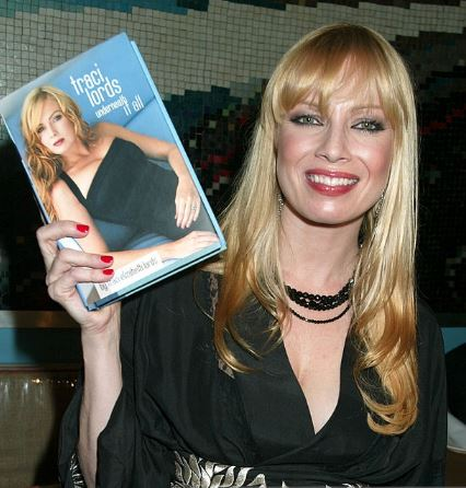 Traci Lords Celebrates the Release of Her New Book 'Underneath It All' at Global 33 in New York City, New York, United States.