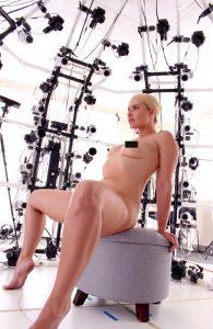 Annika Albrite en position