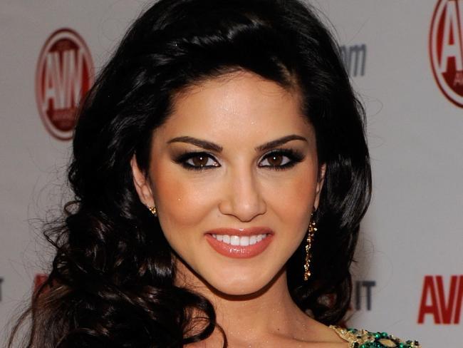 Sunny Leone a fait la transition de l'actrice porno à Bollywood Star. Photo: Ethan Miller