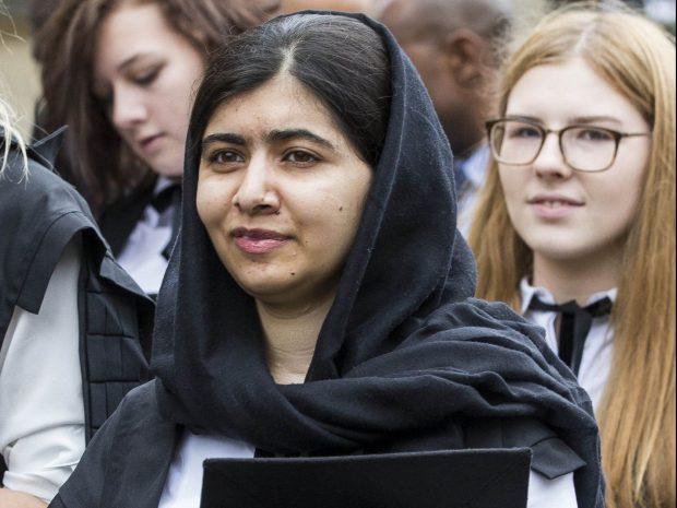 Malala Yousafzai - cérémonie à Oxford