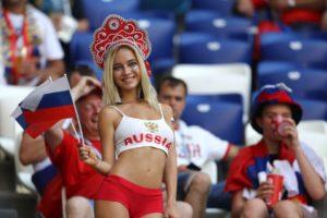 Natalya Nemchinova - coupe du monde de foot 2018