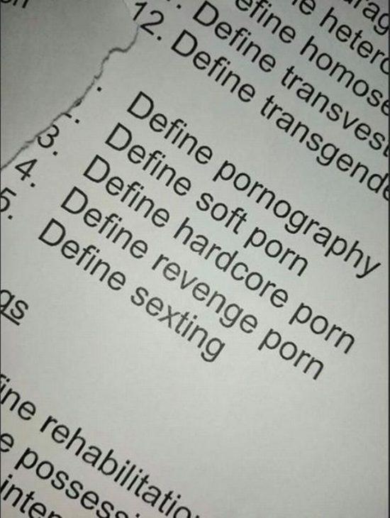 definir la pornographie