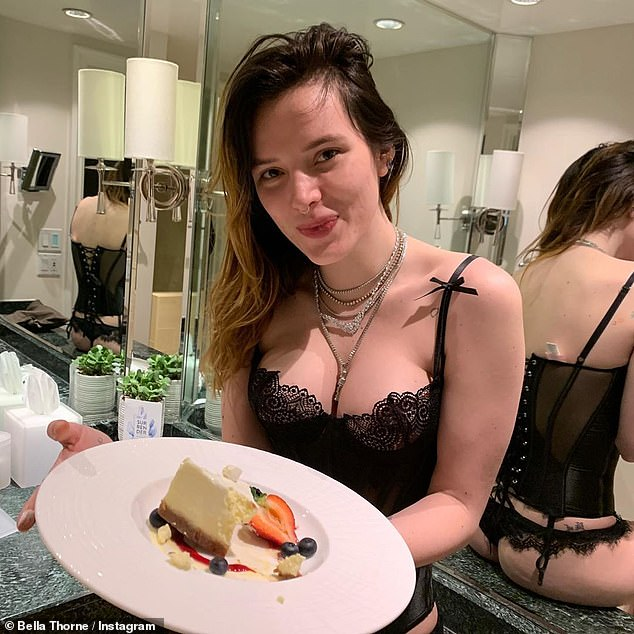 Bella Thorne lingerie