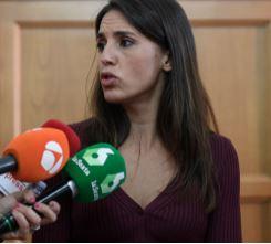 Prendre des photos d'une femme sans son consentement et les distribuer est une violence sexuelle Irène Montero Ministre espagnole des Egalités